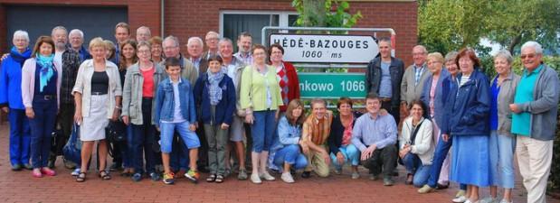 15 Gäste aus Hédé-Bazouges zu Besuch in Badbergen