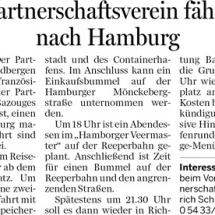 Partnerschaftsverein-Hamburgfahrt 2015