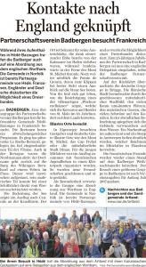 Bersenbrücker Kreisblatt 26.10.2016