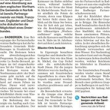 Badbergen in Hede 2016 Artikel