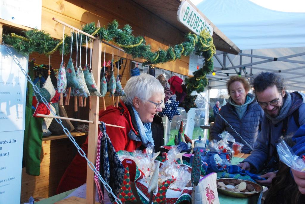 Bild vom Weihnachtsmarkt in Hédé