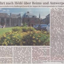 Zeitungsartikel Hédéfahrt 2020-Volltreffer